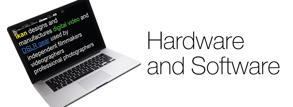 Hardware / Software: Hardware, Office Solution, Teleprompters ...